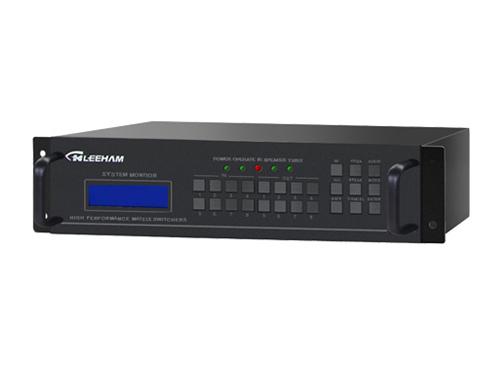 8进8出DVI视频矩阵切换器(带音频)