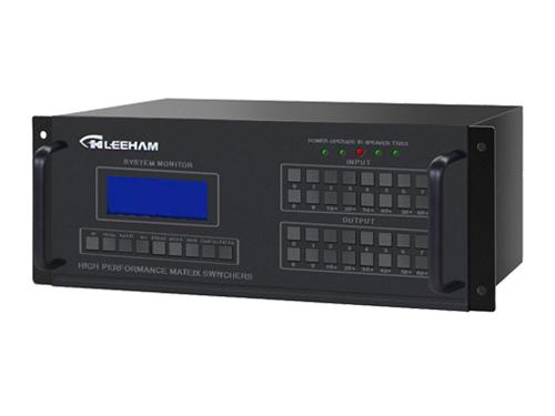 16进16出DVI视频矩阵切换器(带音频