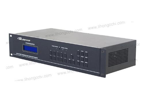 8进8出VGA视频矩阵(带音频) LH60-VGA8-8A