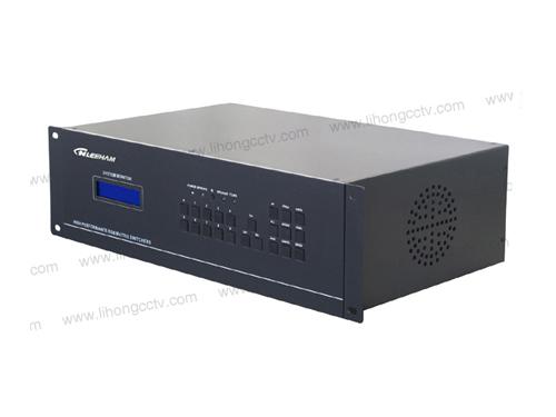 8进8出RGB矩阵切换器(带音频) LH60-RGB8-8A
