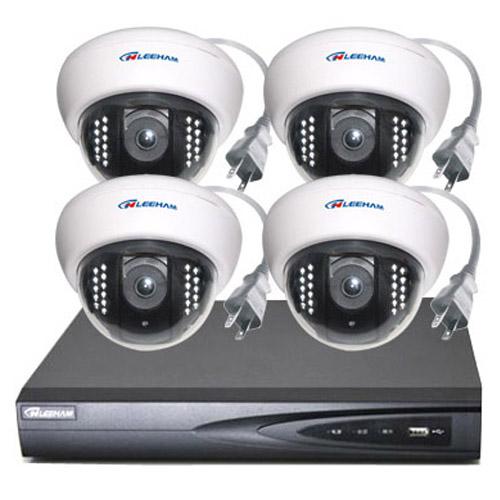 4件套NPC家庭监控 半球摄像机