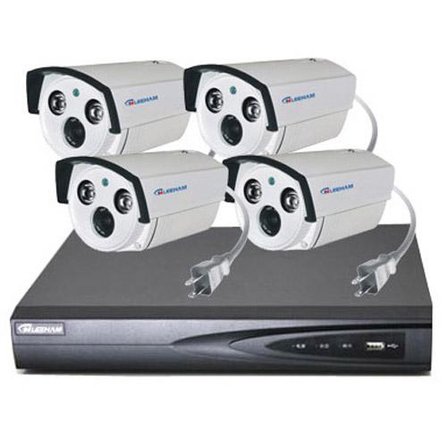 4件套NPC家庭监控 枪机摄像机