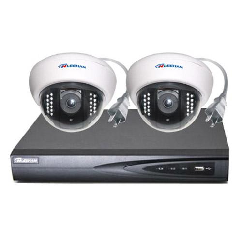 2件套NPC家庭监控 半球摄像机