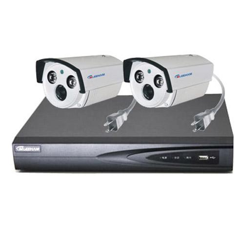 2件套NPC家庭监控 枪机摄像机